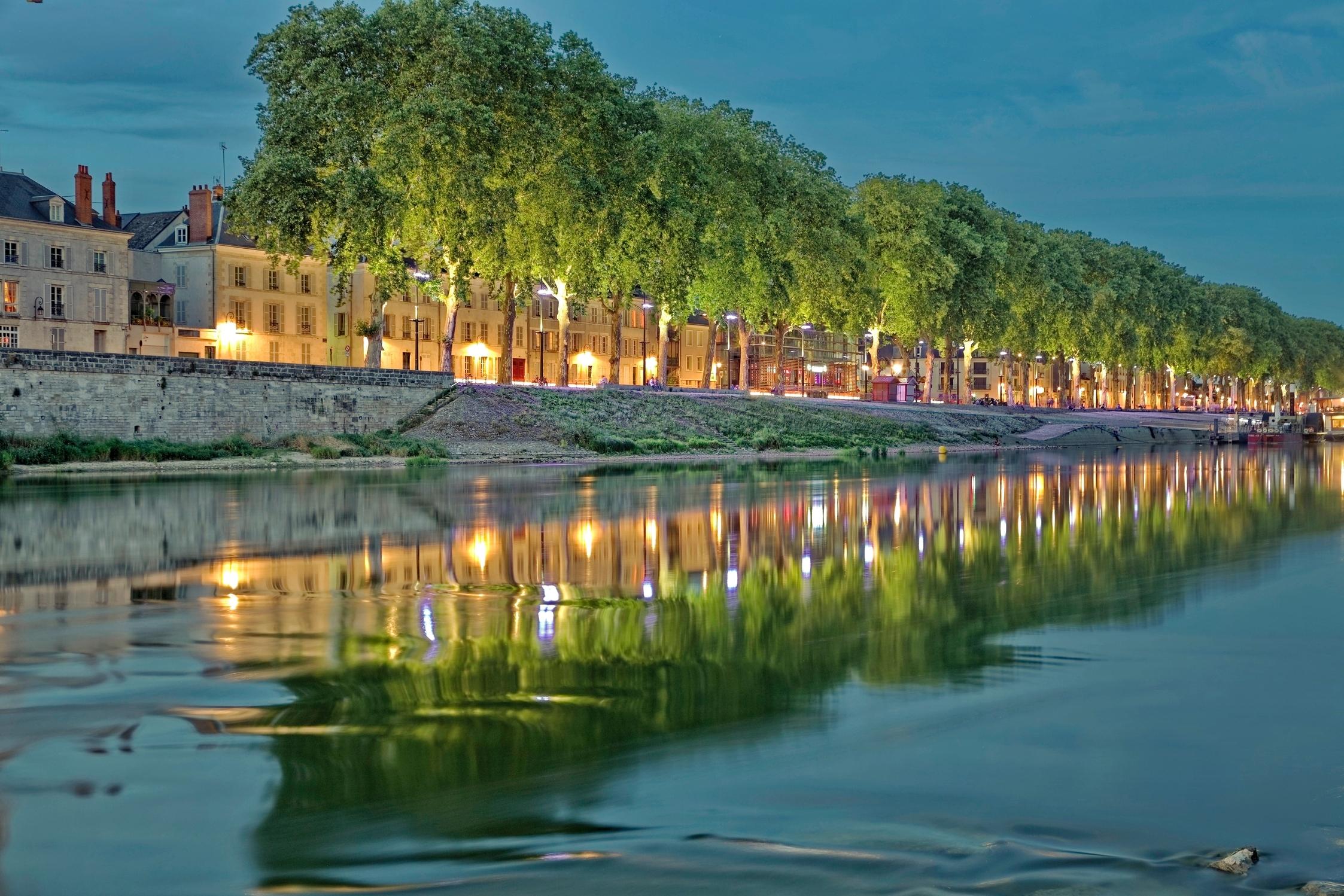 Loire in Orléans